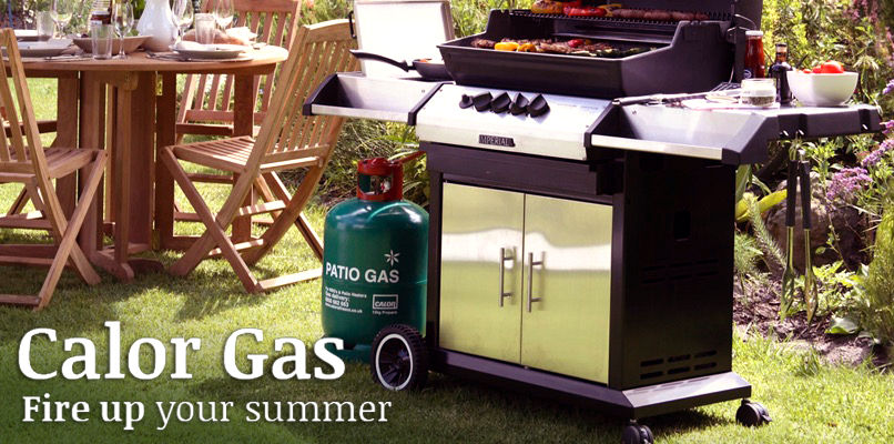 It's BBQ time! Calor Gas for all barbecues. Fire up your summer. Free Home delivery.